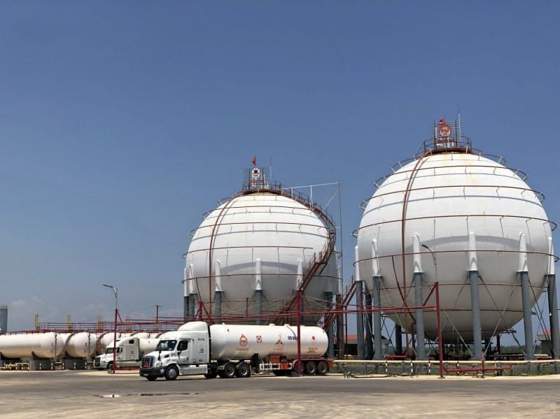 ペトロセンターグループ(ベトナム)のLPガス関連設備