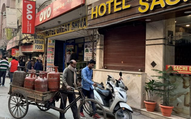 首都ニューデリーのホテル協会は傘下の約3千のホテルを対象に中国人の宿泊禁止を通達した