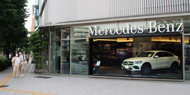 2020/7/6 日経新聞「6月の輸入車販売31.9%減 減少幅は5月より改善」の記事に掲載された画像