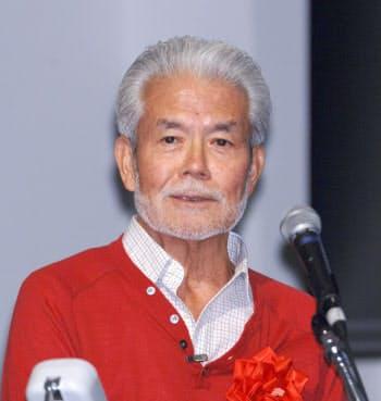 「ベンチャー2005KANSAI」で登壇したシマノの島野喜三氏(2005年11月、大阪市北区)