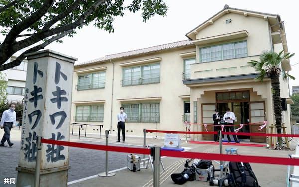 トキワ荘マンガミュージアム(7日午前、東京都豊島区)=共同