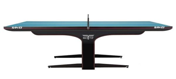 三英が手掛ける最新の卓球台=同社提供