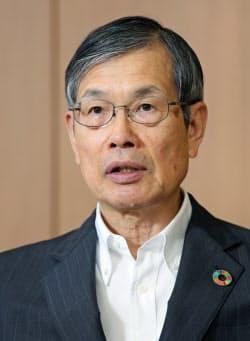 中部経済連合会会長の水野明久氏