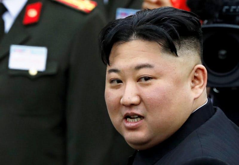 判決で賠償を求められた北朝鮮の金正恩委員長=ロイター