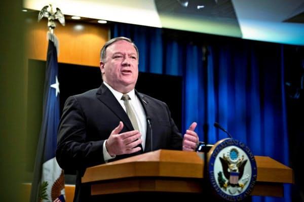 ポンペオ米国務長官は中国製アプリの使用禁止を検討していると明かした=ロイター
