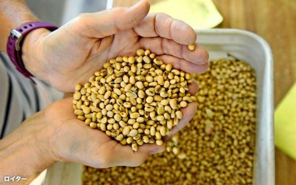 米国の農家は中国が大豆を多く購入すると期待する=ロイター