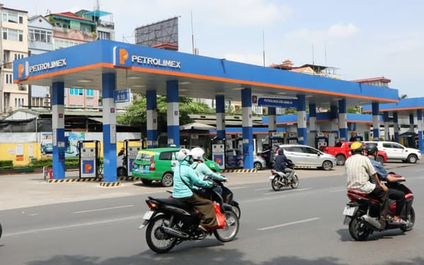 ペトロリメックスはベトナムで約5000カ所の系列給油所を抱える石油小売り最大手(ハノイ)