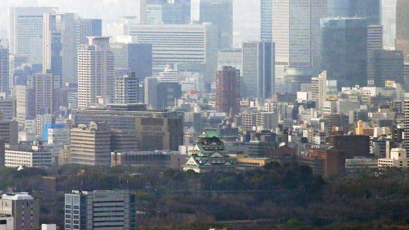 大阪の中小の業況は4~6月、過去最低だった