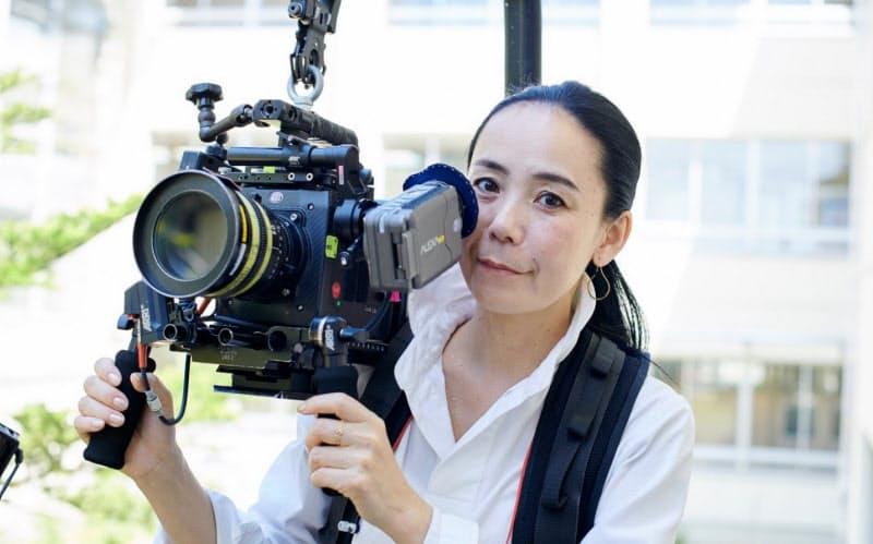 東京オリンピックの公式映画監督も務める河瀬さん=組画提供