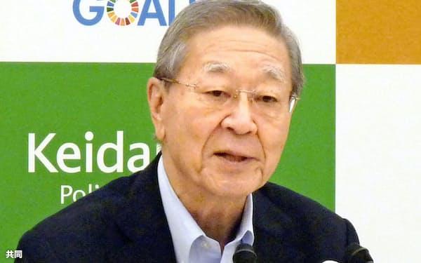 中西経団連会長は6月の経財諮問会議で製薬業界の意向を代弁した