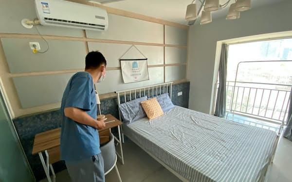 「租金貸」を利用できる賃貸物件(6月、広東省深圳市)