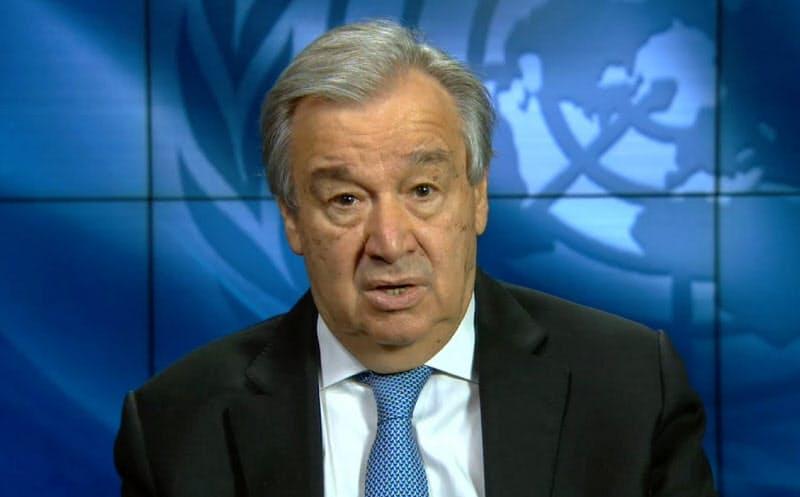 国連のグテレス事務総長は9日、新型コロナの中南米への影響について語った