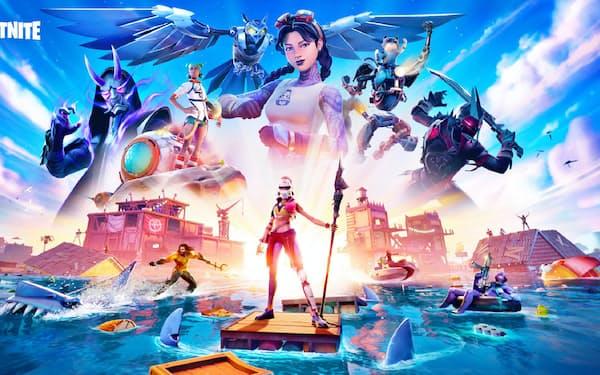 エピックゲームズが手がける人気ゲーム「フォートナイト」は3億5千万人超が登録する