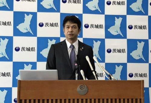 大井川知事は、東京での会食は危険と警戒を呼びかけた(7月10日)