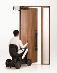 LIXILが発売する「DOAC(ドアック)」を設置したドア