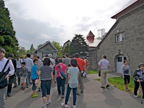 余市蒸溜所の見学が17日から再開される