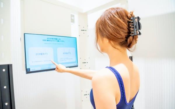 計測ルームに入って5秒で精緻な体形データを得られる