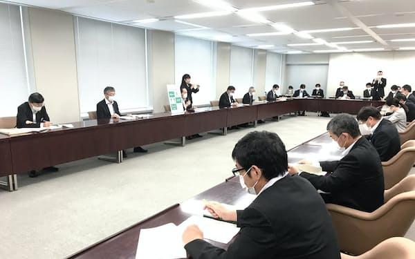 香川県は新型コロナウイルス対策本部会議を開いた(高松市)