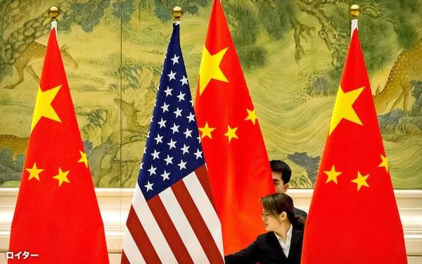 米中両政府は1月に貿易協議の第1段階合意に署名した=ロイター