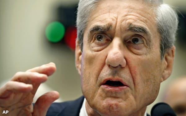 モラー米元特別検察官はトランプ大統領の選挙陣営とロシアの共謀疑惑について捜査した=AP