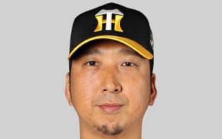 阪神の藤川球児投手=共同