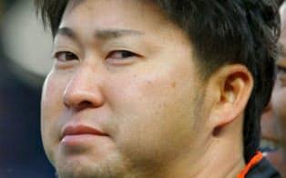 田沢純一投手=ゲッティ共同