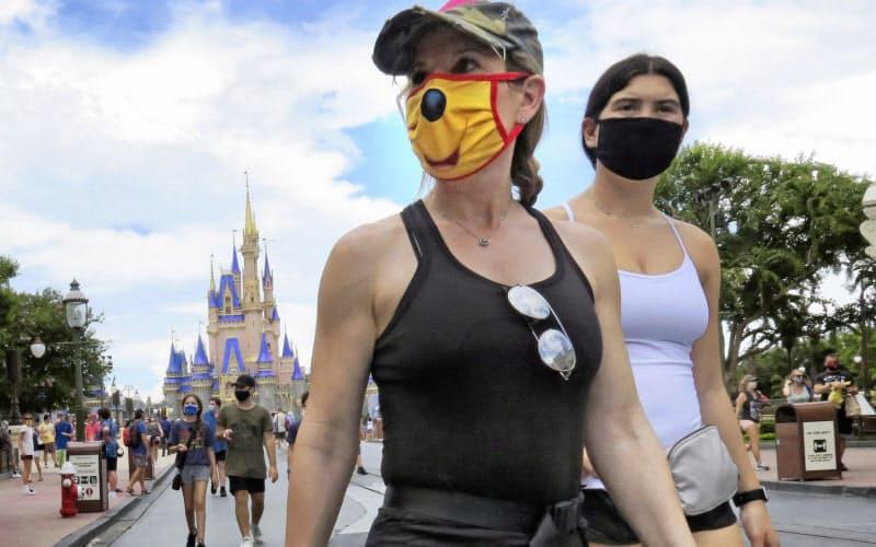 米の新規感染6万1300人 フロリダ、4月のNY抜き最多