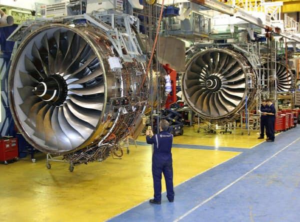 ロールス・ロイスも航空機の発注キャンセル・縮小に直面している(C)Rolls-Royce PLC