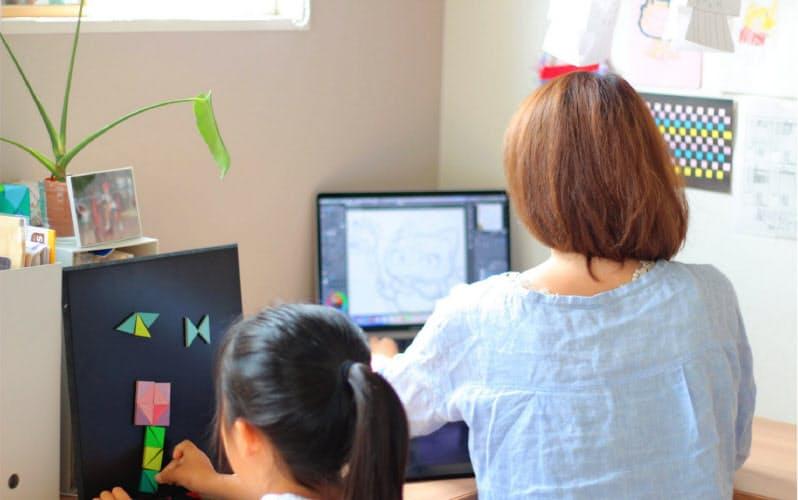 イラスト制作のムゲンアップには北海道から九州まで在宅勤務者がいる