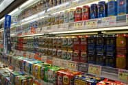 「第三のビール」の販売が伸びている(首都圏のスーパー)
