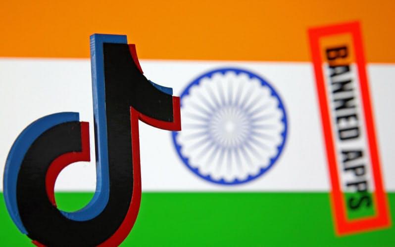 インドで約2億7000万人が利用していた動画投稿アプリ「ティックトック」も禁止された=ロイター