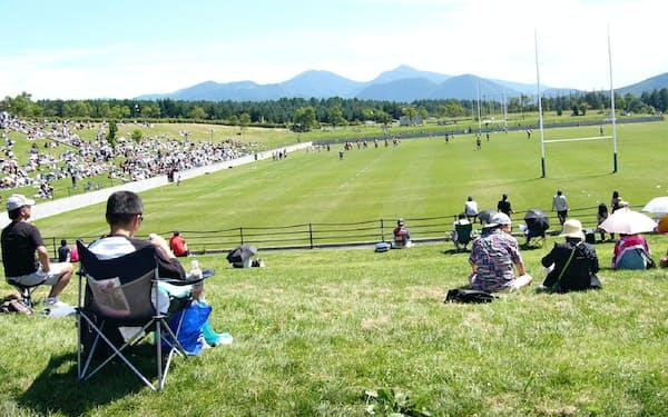 長野県の菅平高原はラグビーなど「夏合宿の聖地」として知名度が高い