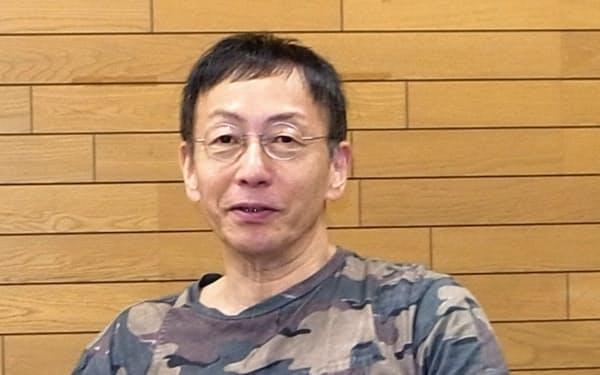 「赤鬼」について語る野田秀樹