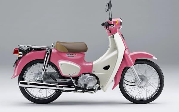 ホンダが発売するバイク「スーパーカブ110・『天気の子』ver.」