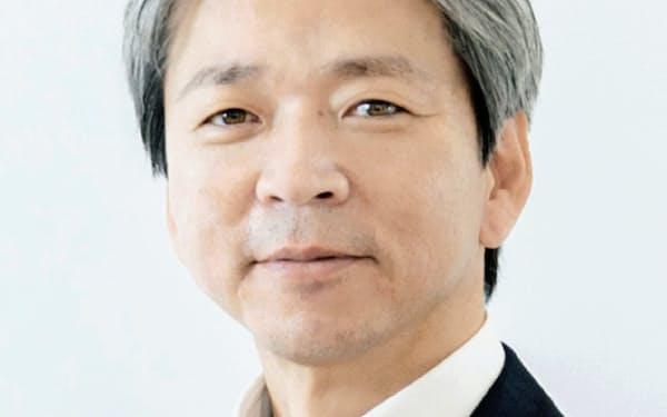 15日にオンラインで記者会見したアイキューブドシステムズの佐々木社長
