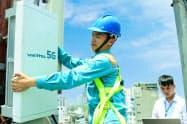 5Gの商用サービス開始に向け準備を進めるベトテル(ホーチミン市)=同社提供