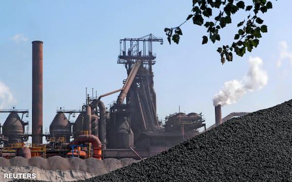 ベルギーにあるアルセロール・ミタルの製鉄所=ロイター