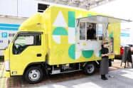 キッチンカー「アンデルセン号」での営業を8月から始める(16日、広島市)