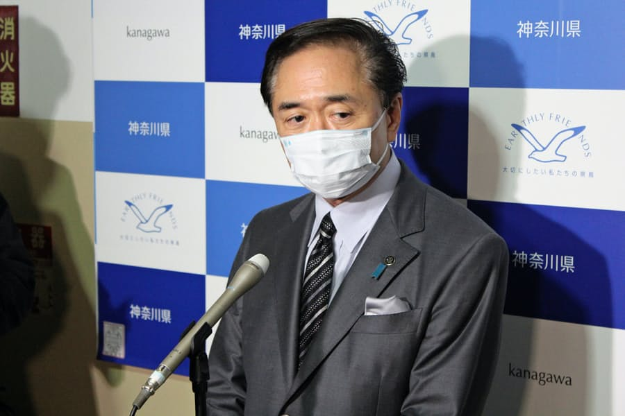県 知事 神奈川