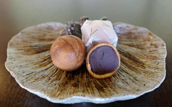 わずか1.5ミリの薄い皮が独特の食感と上質な甘みを生む