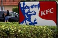 米KFCは植物肉フライドチキンの販売を開始する=ロイター
