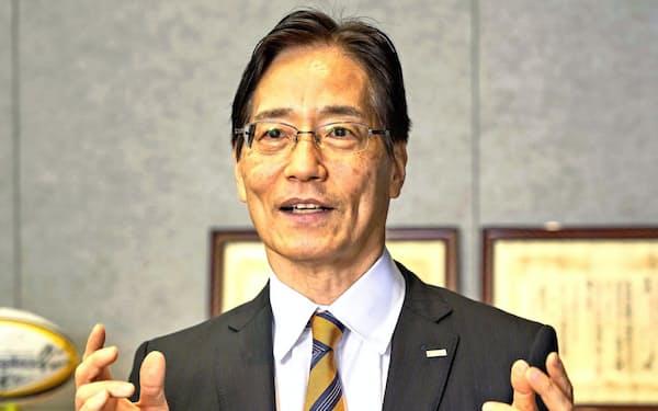 6月にNTTコミュニケーションズ社長に就任した丸岡亨氏