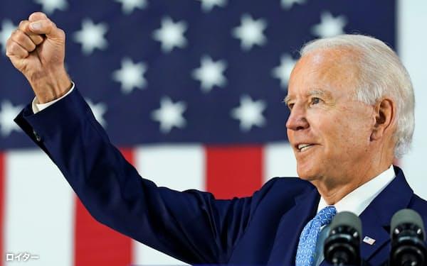 米大統領選で民主党候補の指名を固めたバイデン前副大統領はFRBに現在よりも大きな仕事を担わせようとしている=ロイター