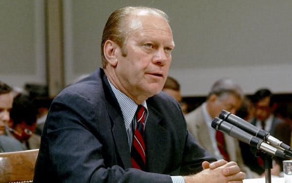第38代フォード大統領(AP)