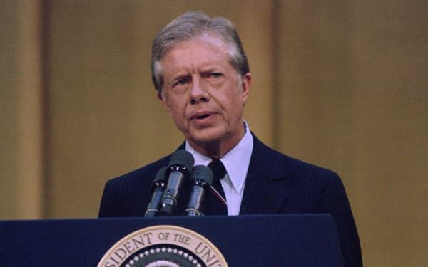 第39代カーター大統領(AP)