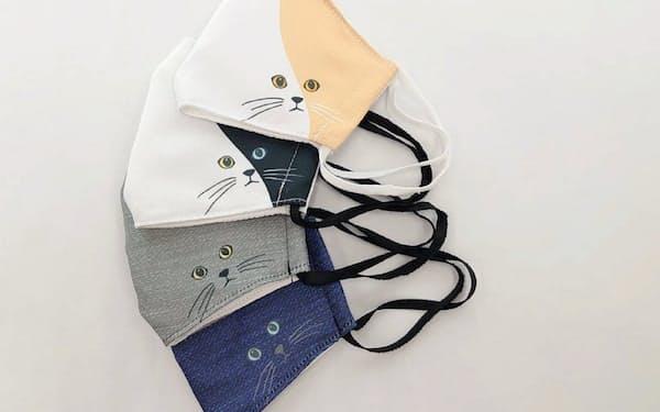 商品企画から縫製まで一貫生産する