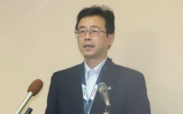 17日に東京高検検事長に就任した堺徹氏(20日、東京都内)