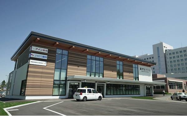 アインHDもシダックスグループから子会社を買収した(北海道旭川市にある旭川医大構内の店舗)