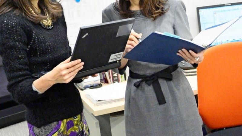 営業や生産管理などの第一線で働く女性が増えている
