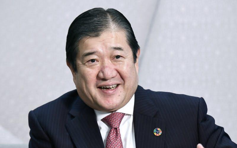 安永竜夫 三井物産社長